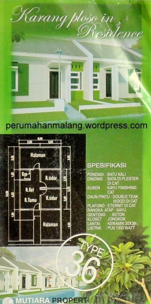 perumahan karang ploso in residence